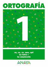 Ortografía 1 Anaya