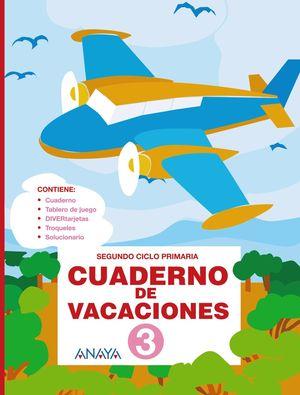 Cuaderno de Vacaciones 3 (Anaya 2010)