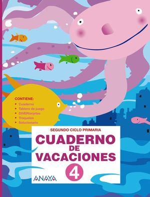 Cuaderno de Vacaciones 4 (Anaya 2010)
