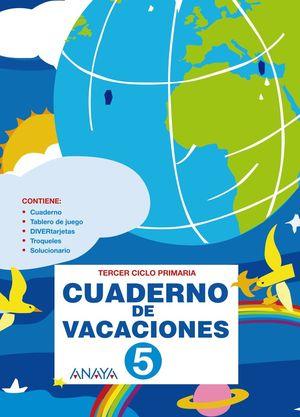 Cuaderno de Vacaciones 5 (Anaya 2010)