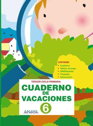 Cuaderno de Vacaciones 6 (Anaya 2010)