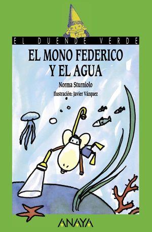 Mono Federico y el agua
