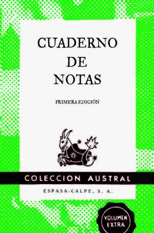 CUADERNO DE NOTAS GRANDE VERDE