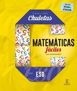 MATEMÁTICAS FÁCILES ESO (2016) CHULETAS