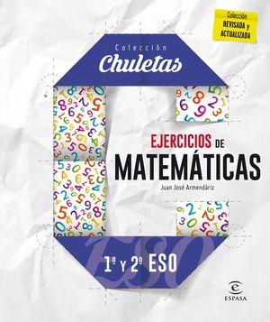EJERCICIOS DE MATEMÁTICAS 1º Y 2º DE ESO (2016) CHULETAS