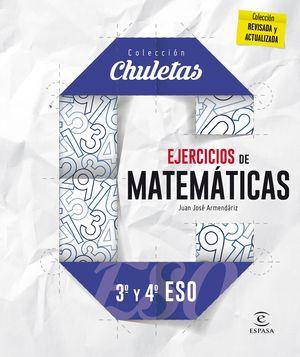 EJERCICIOS DE MATEMÁTICAS 3º Y 4º ESO (2016) CHULETAS