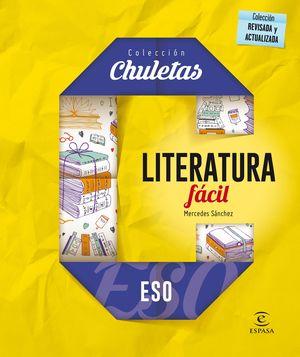 LITERATURA FÁCIL PARA LA ESO (2016) CHULETAS