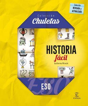 HISTORIA FÁCIL PARA LA ESO (2016) CHULETAS