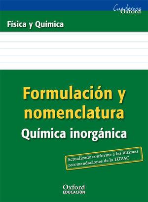 FORMULACION Y NOMENCLATURA QUIMICA INORGANICA OXFORD