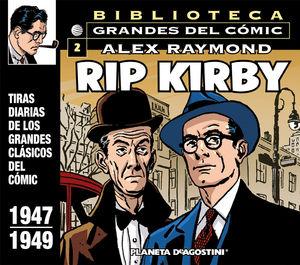 RIP KIRBY Nº2/12: 1947-1949 EL RAPTO DE