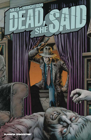 DEAD,SHE SAID