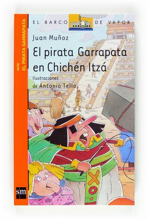 EL PIRATA GARRAPATA EN CHICHEN ITZA