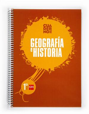 CUADERNO GEOGRAFÍA E HISTORIA 1 ESO APRENDE Y APRUEBA