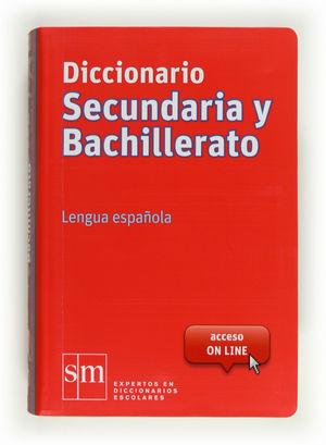 DICCIONARIO LENGUA SECUNDARIA Y BACHILLERATO SM 12