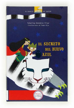 EL SECRETO DEL HUEVO AZUL(CARTONE)