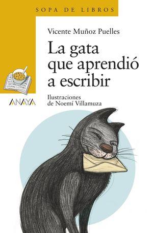 LA GATA QUE APRENDIÓ ESCRIBIR