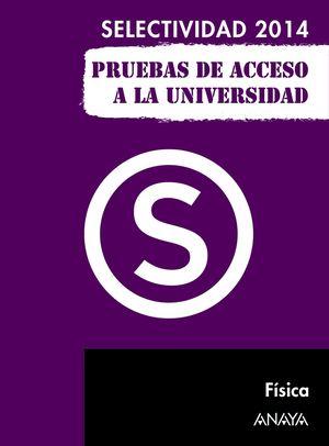 FÍSICA SELECTIVIDAD ANAYA 2014