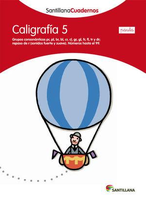 CALIGRAFIA 5 PAUTA SANTILLANA ED12