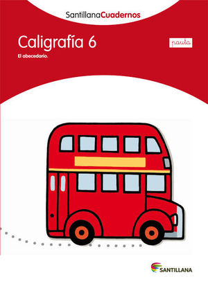CALIGRAFIA 6 PAUTA SANTILLANA ED12