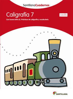 CALIGRAFIA 7 PAUTA SANTILLANA ED12