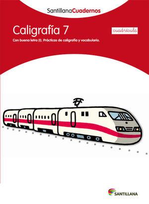 CDN 7 CALIGRAFIA CUADRICULA ED12