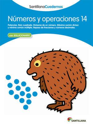 CDN 14 NUMEROS Y OPERACIONES ED12