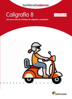 CDN 8 CALIGRAFIA CUADRICULA ED12