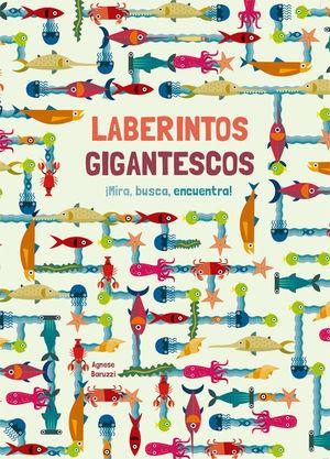 LABERINTOS GIGANTESCOS (VVKIDS)