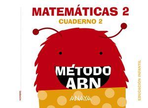 MATEMÁTICAS ABN. NIVEL 2. CUADERNO 2.