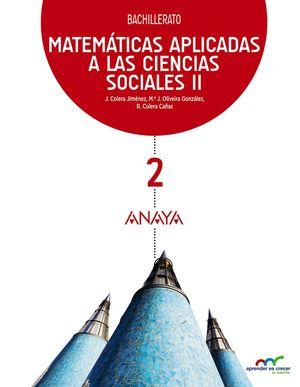 (16) BACH2 MATEMÁTICAS II APLICADAS A LAS CCSS APRENDER ES CRECER ANAYA