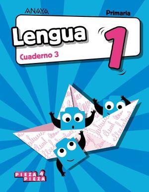(19) EP1 LENGUA CUADERNO 3 ANAYA PIEZA A PIEZA