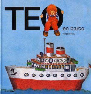 Teo en barco