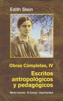 EDIHT STEIN. OBRAS COMPLETAS IV