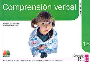 RED 1.5 COMPRENSIÓN VERBAL, INICIACIÓN