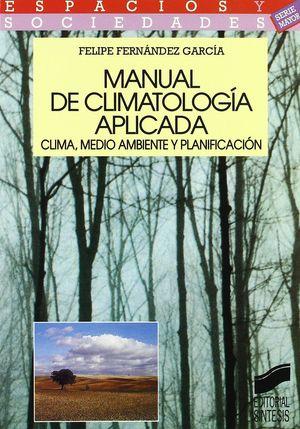 MANUAL DE CLIMATOLOGÍA APLICADA