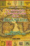 LA EXISTENCIA Y DESAPARICIÓN DE LA ATLÁNTIDA