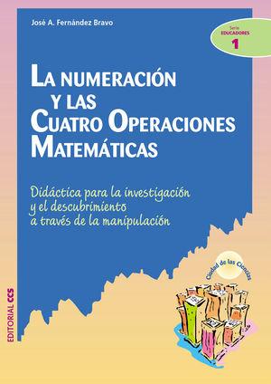 La numeración y las cuatro operaciones matemáticas: didáctica para la investigación y el descubrimie
