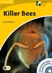 KILLER BEES LEVEL 2 ELEMENTARY/LOWER-INTERMEDIATE BOOK WITH CD-ROM/AUDIO CD PACK