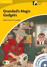GRANDAD'S MAGIC GADGETS LEVEL 2 ELEMENTARY/LOWER-INTERMEDIATE BOOK WITH CD-ROM/A