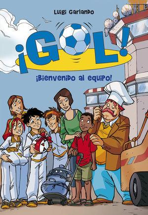 GOL 17. BIENVENIDO AL EQUIPO