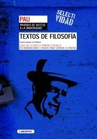 TEXTOS DE FILOSOFÍA PAU Madrid 2009/2010