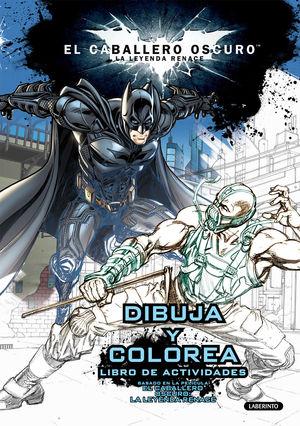 DIBUJA Y COLOREA BATMAN EL CABALLERO OSCURO
