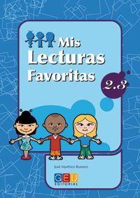 MIS LECTURAS FAVORITAS 2.3