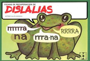 FICHAS DE RECUPERACION DE DISLALIAS
