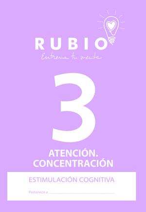 ESTIMULACIÓN COGNITIVA RUBIO: ATENCIÓN Y CONCENTRACIÓN 3