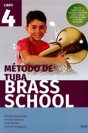 BRASS SCHOOL - METODO DE TUBA 4
