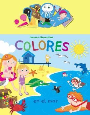 Colores en el mar. Imanes divertidos