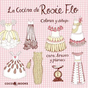 LA COCINA DE ROSIE FLO.COLOREA Y DIBUJA CARA, BRAZ