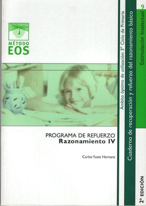 RAZONAMIENTO IV PROGRAMAS DE REFUERZOS