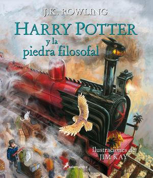(15) HARRY POTTER Y LA PIEDRA FILOSOFAL (ILUSTRADO)